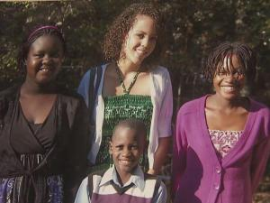 Jodi and Jerry Tucker adopted three children from Uganda. They have a fourth adopted child who they got as a baby.