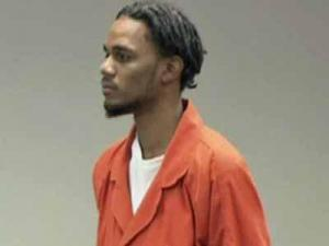 Seneca Henderson during a court appearance on Jan. 9, 2012.