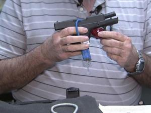 Every gun should have a gun lock, says Rick Franks, a former Wake County deputy and current firearms retailer.