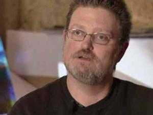Keith Adams is accused of stealing his own art from an Apex restaurant.
