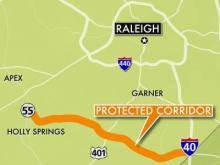 Highway corridor suit could affect Wake landowners