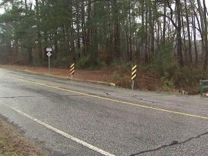 Four teenagers were injured early Sunday morning when the car they were in crossed the center line and wrecked in a ditch off N.C. Highway 33 south of Tarboro, State Highway Patrol officials said.