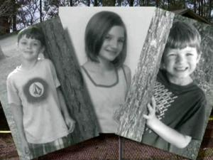 Elijah Pittman, 9, left, Tabitha Pittman, 12, and Gabriel Pittman, 7, died on Feb. 23, 2012, when fire ripped through their Onslow County home.