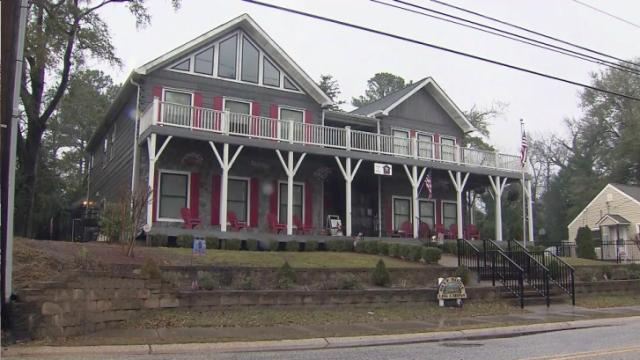 "Jubilee House in Fayetteville was transformed by ""Extreme Makeover: Home Edition"" in 2011 into a place to house homeless female veterans."