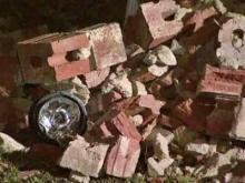 Car plows into Raleigh apartment