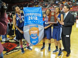 4A Girls Basketball State Championships - March 10, 2012  Millbr