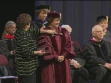 Jo Allen officially installed as president of Meredith College