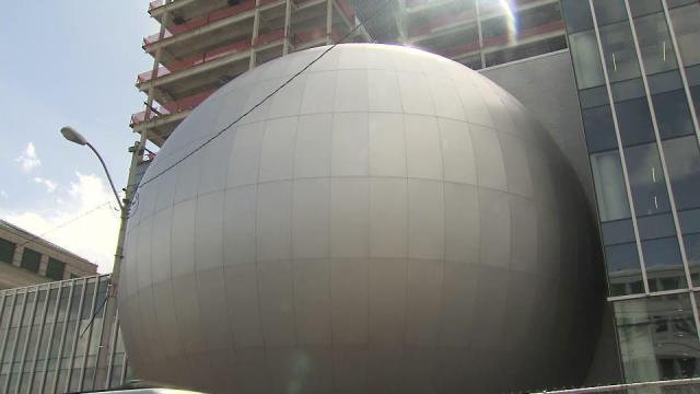 Science center's sphere features theater
