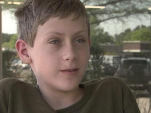 Nolan Turner was raising money last week for charity when someone stole the cash he had raised.