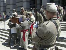 Civil war soldiers laid to rest, again