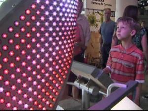 Families flocked to the Nature Research Center at the NC Museum of Natural Sciences for its opening weekend.
