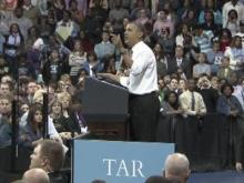 Obama promotes student loan debt plan at UNC