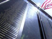 Fort Bragg monument to soldiers killed in action