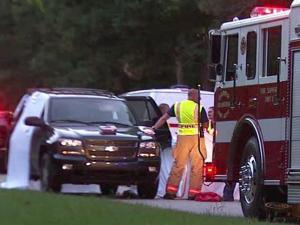 An SUV struck and killed Johnathan Lamont Sanders, 27, when he dashed into Fanny Brown Road in southern Wake County to escape a dog that was chasing him on Monday, May 28, 2012.