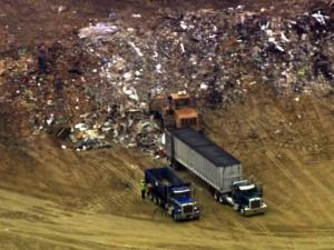 Wake County commissioners voted unanimously on June 18, 2012, to reject plans by the owners of Shotwell Landfill south of Knightdale to triple the amount of construction waste they could accept each year.