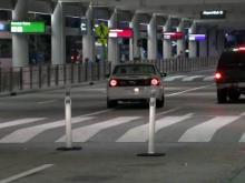 Pedestrian hit at RDU