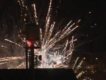 Raleigh's downtown fireworks gets mixed reviews