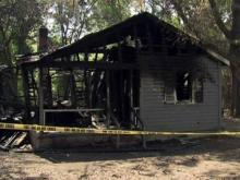 Four vacant homes burn in Sanford
