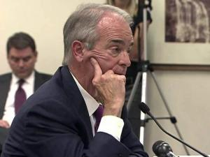 Duke Energy CEO Jim Rogers testifies to the N.C. Utilities Commission on July 10, 2012.
