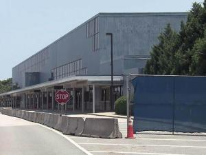 The aging Terminal 1 at Raleigh-Durham International Airport is undergoing a $68 million makeover, which is expected to be complete in January 2014.