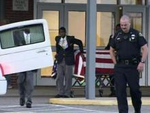 Hundreds mourn slain Lumberton police officer