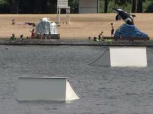 Pair tried to save man drowning in Benson lake