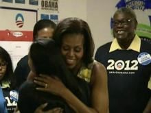 Michelle Obama makes campaign stop in Raleigh