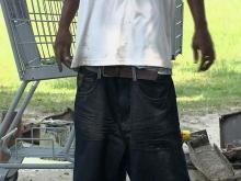 Dunn debates saggy pants ban