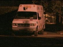 A man driving this ice cream truck was being detained by police overnight Friday in connection with the adbuction of a 14-year-old girl in Garner.