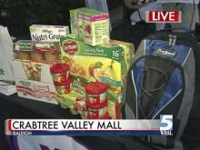 'BackPack Buddies' campaign helps feed hungry children