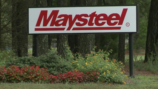 Maysteel, a company that produces sheet metal enclosures, will shut down its operations in Creedmoor, cutting almost 100 jobs.