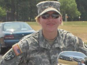 The family of Sgt. Donna Johnson submitted this photo of her.