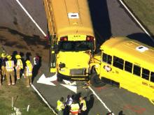 School buses collide in Youngsville
