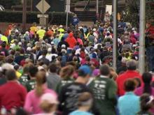 Thousands of runners packed Raleigh streets Sunday morning for the sixth annual City of Oaks Marathon, which included a full marathon, half marathon and 10K race.