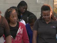 Vigil for injured Tarboro girl