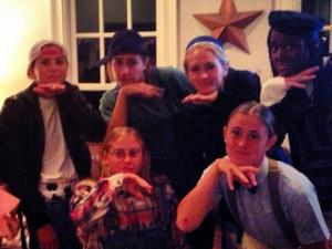 Several members of the Duke women's lacrosse team dressed as characters from The Little Rascals comedy movies for the team's 2012 Halloween party, including one who wore black-face. This photo was posted on GoDuke.com and then removed.
