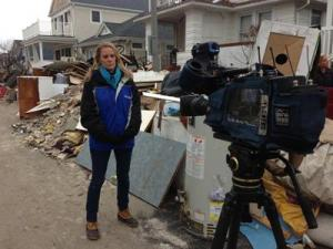 Amanda Lamb covers the recovery and aftermath of Hurricane Sandy in New York.