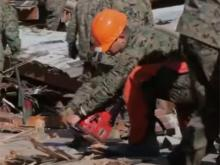 Marines-Sandy Relief Efforts