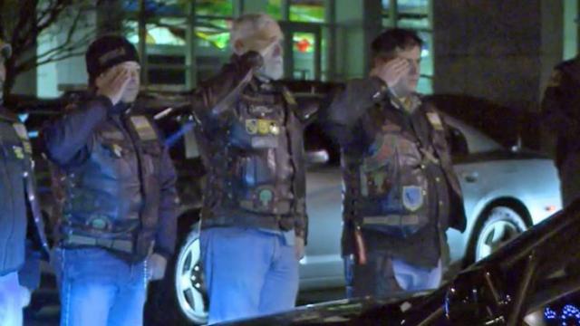 Patriot Guard salutes fallen vet