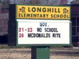 Longhill Elementary School in Fayetteville