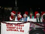 Holiday music turned off for 2012 Kenly Christmas parade