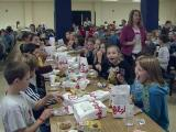 Students chow down on classmate's gesture of thanks