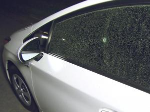 Authorities in Cary are warning residents about a BB gun vandal who has damaged 40 vehicles in the last few weeks.