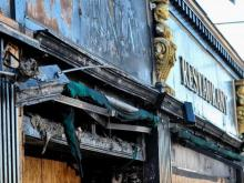 The owner of Hibernian Pub in Raleigh says he plans to rebuild the Glenwood South mainstay, which was destroyed by a grease fire Wednesday morning.