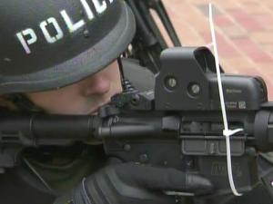 Nearly 250 people from 21 law enforcement agencies were involved Thursday in a terrorism response training drill, known as Operation Eagle Swoop, on the campus of North Carolina Central University.