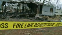 A father of six adult children was found dead inside his burned mobile home just outside Fayettevile Saturday night, according to the Cumberland County Sheriff's Office.