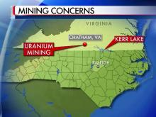 Virginia uranium mine graphic