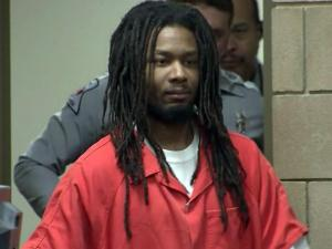 Mario Andrette McNeill enters a Cumberland County courtroom for a Jan. 11, 2013, pre-trial hearing. He is charged with kidnapping, raping and killing 5-year-old Shaniya Davis in November 2009.