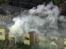 Fire rips through Chapel Hill condos