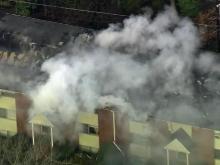 Fire rips through Chapel Hill condos